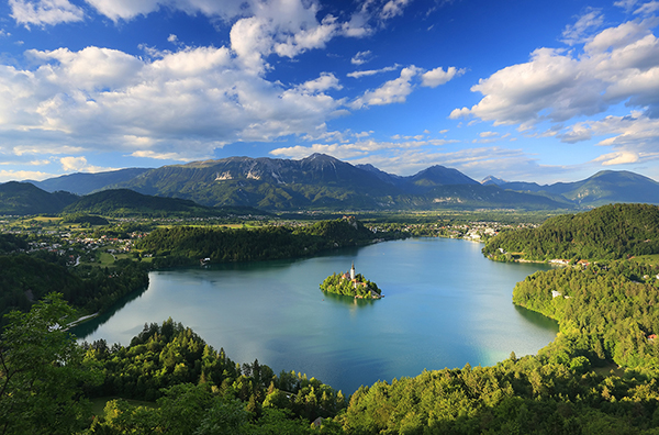Bled Lake with the Assumption of Mary Church, Slovenia