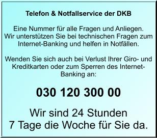 Die beste Bank auf Reisen - Service