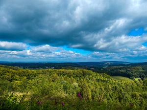 Aussicht beim Teutoburger Wald