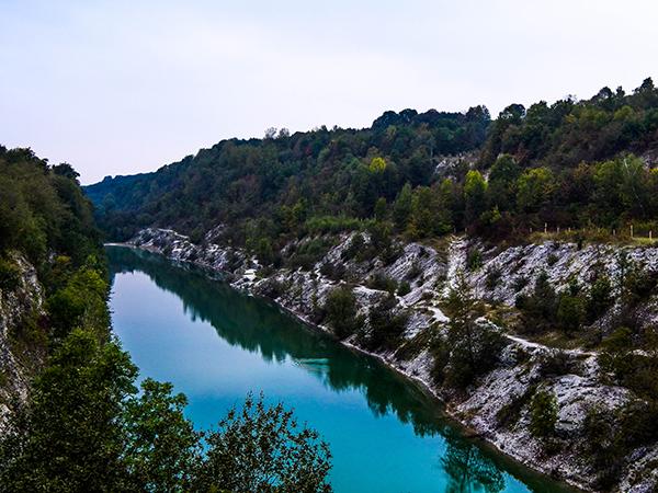 Blaue Lagune im Teutoburger Wald