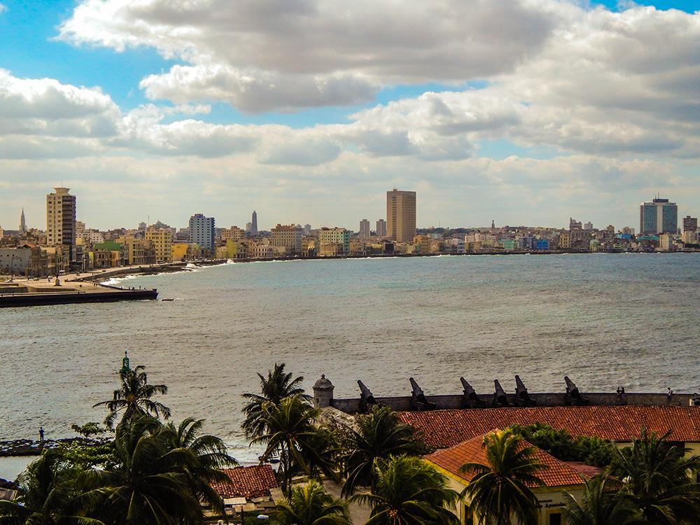 Kuba Rundreise - La Habana Vieja - Castillo de Los Tres Reyes del Morro