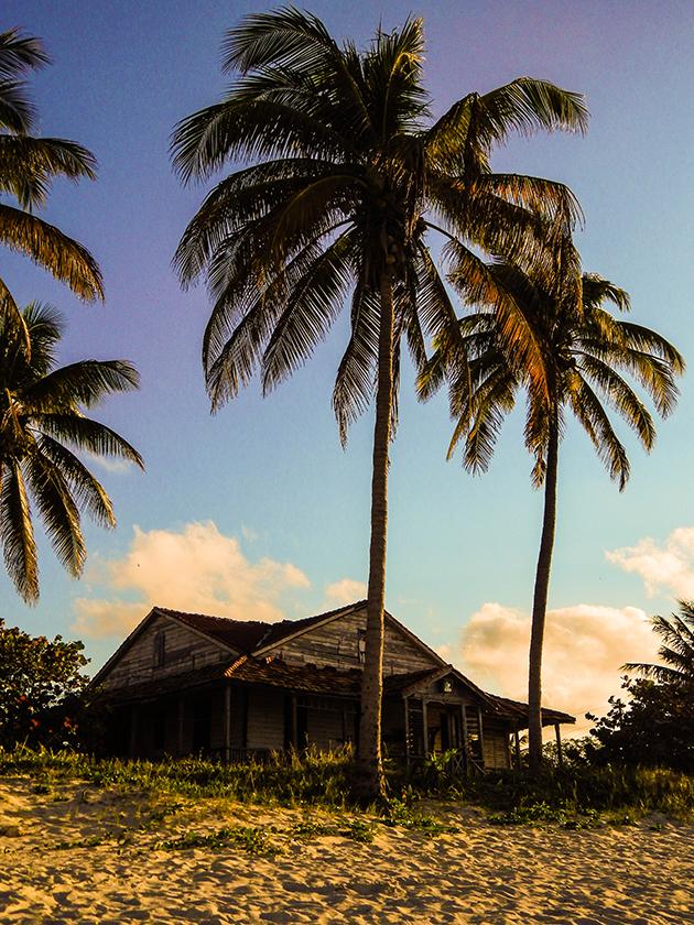 Kuba Rundreise - Varadero - Haus am Strand