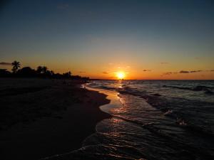 Kuba Rundreise - Varadero - Sonnenuntergang - 02