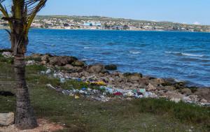 Kuba Rundreise - Matanzas - Müllberge an der Küste