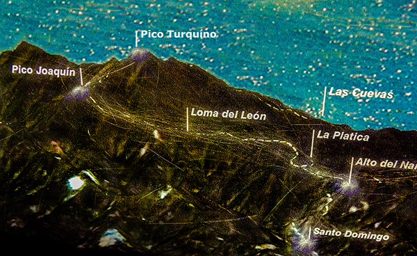Sierra Maestra - Route zum Pico Turquíno