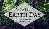 Earth Day 2015 – So einfach ist es, etwas Wunderbares für die Natur zu tun!