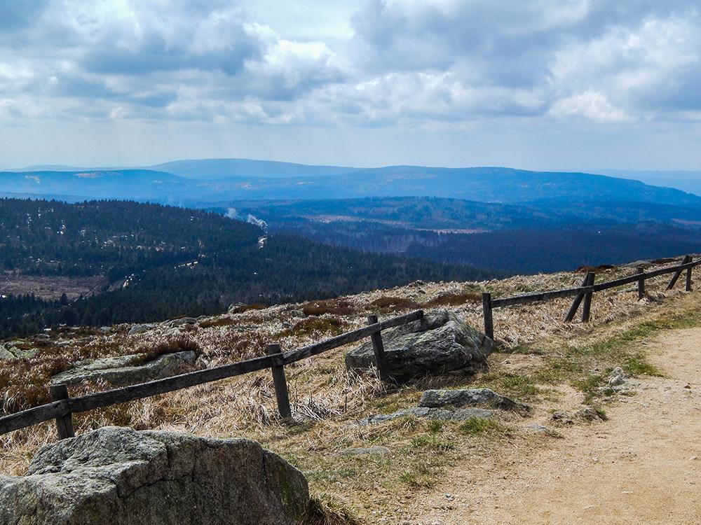 Wandern im Harz - Fabelhafte Aussicht vom Brocken