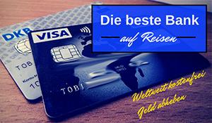 günstig verreisen - die beste Bank