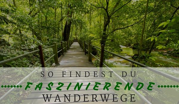 Wanderwege finden - Intro