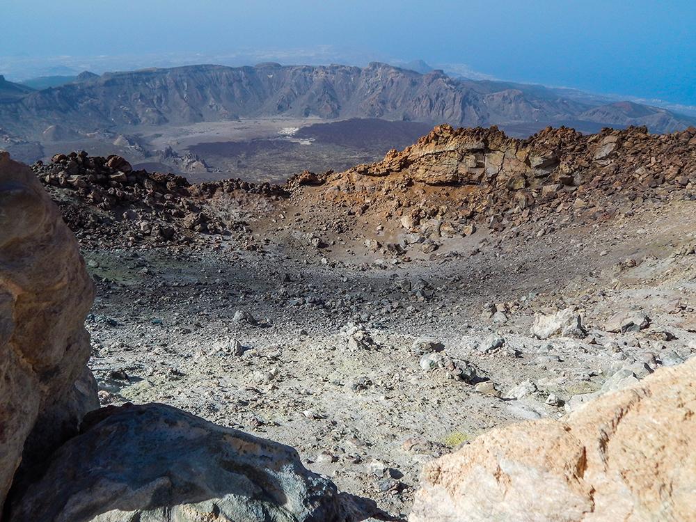 Teneriffa - Tipps - Ausflüge - Vulkan Teide - 08 (Der Krater)