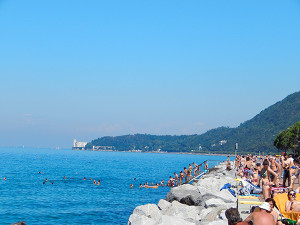 Ufer von Trieste