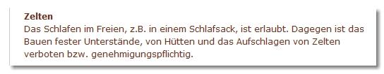 Wild campen - Schutzgemeinschaft Deutscher Wald