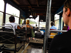 Kuba Rundreise - Unterwegs im Bus der Einheimischen