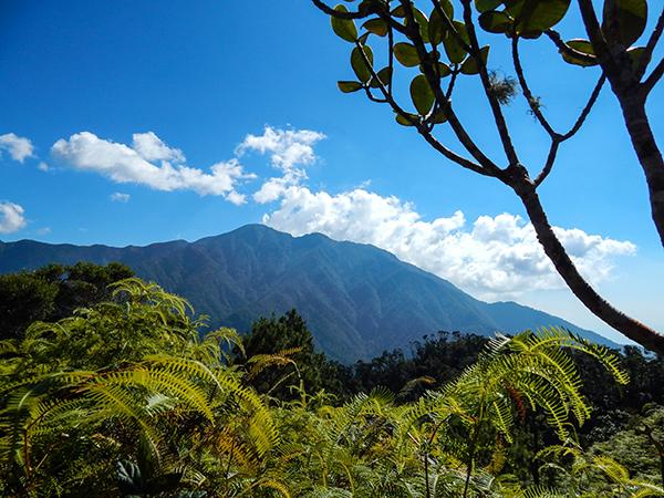 Sierra Maestra - Pico Turquíno in der Ferne