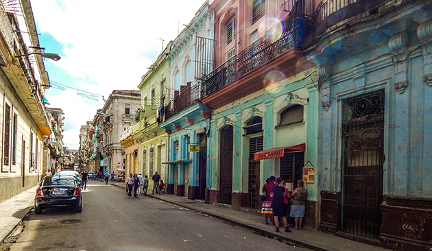 Reiseguide Kuba - Straßenkiosk