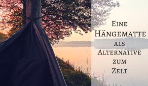 Hängematte als Alternative zum Zelt - Introbild