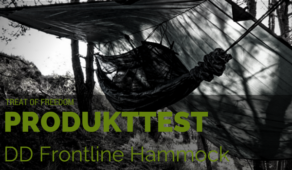 DD Frontline Hammock - Introbild