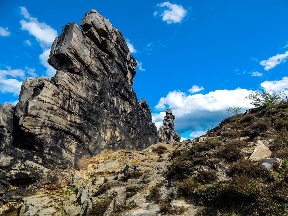 Wandern im Harz - Teufelsmauer