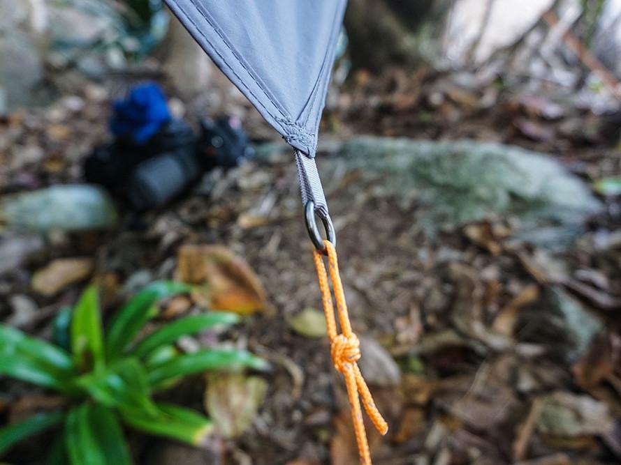 "Moskito-Traveller EXTREME - Tarp ""Jungle Tent PRO"" Eckpunkte mit Öse"