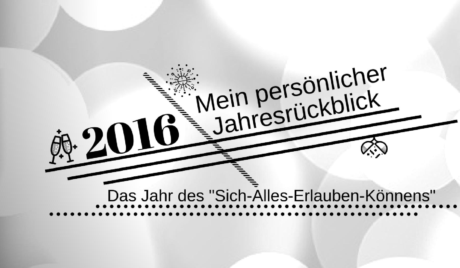 Introbild - Jahresrückblick 2016
