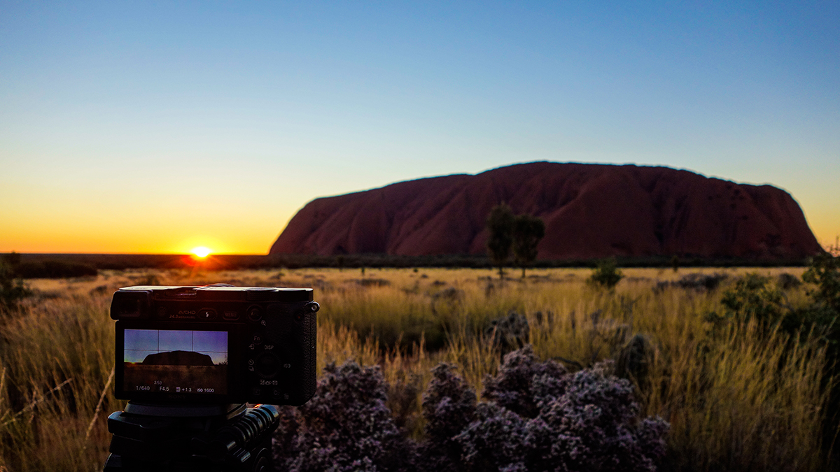 Roadtrip Australia - Sonnenaufgang am Uluru